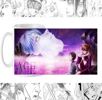 Чашка Evangelion cup-00079