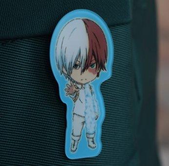 Значок акриловий фігурний Boku no Hero Academia БУЛ-0003-2